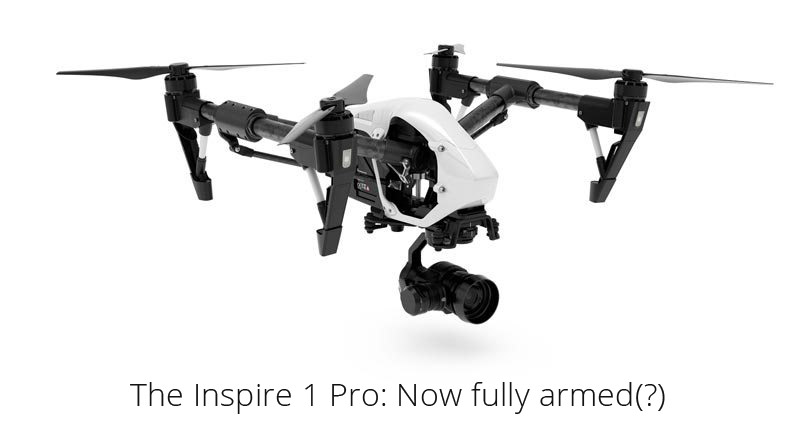 The DJI Inspire 1 Pro with X5 camera