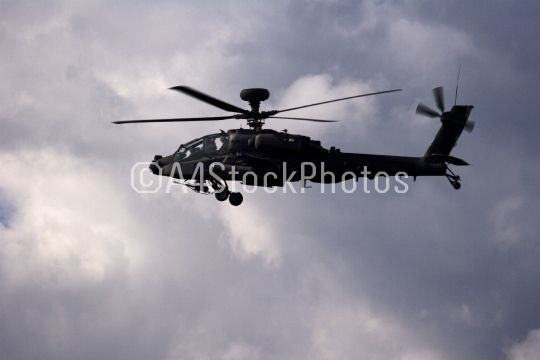 Apache in flight