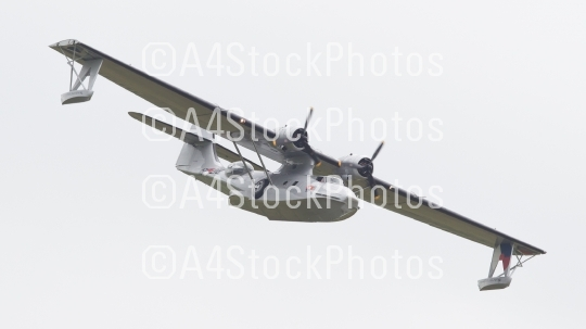 LEEUWARDEN, NETHERLANDS - JUNE 11: Consolidated PBY Catalina in